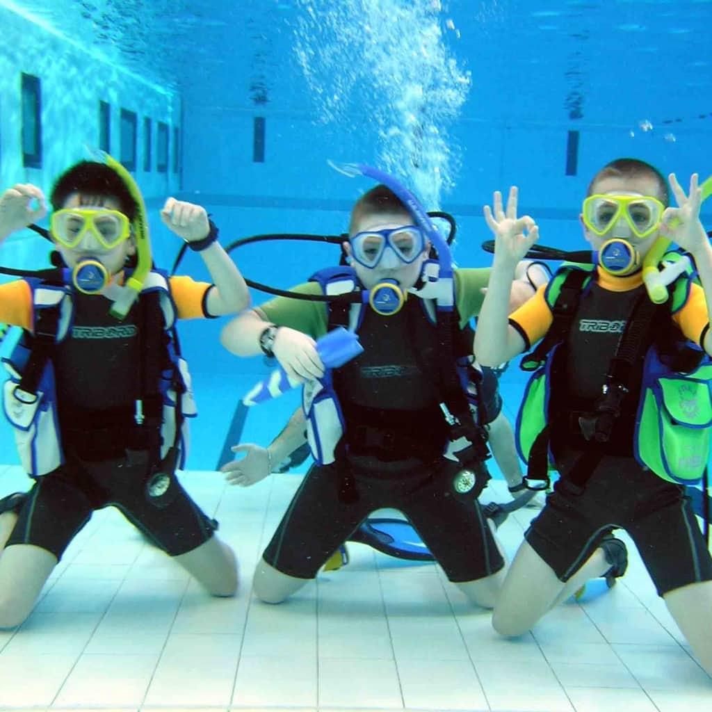Dive kids