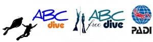 ABC Dive – Hét 5* PADI IDC Divecenter van Almere Logo